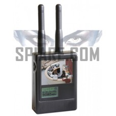 Scanner rilevatore di microtelecamere senza fili nelle bande di frequenza da 0.9 a 3GHz e da 5 a 6GHz