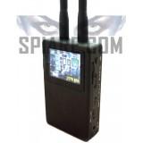 Scanner per trovare telecamere nascoste con registratore integrato e rilevatore di segnali video da 0.9 a 3 GHz e da 5 - 6 GHz